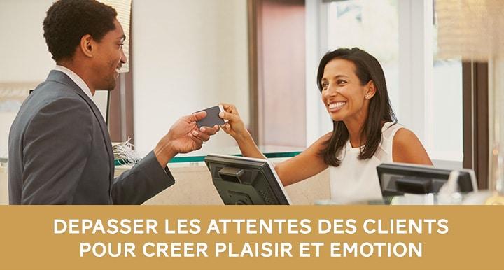 comment déveloper l'émotion client en hôtellerie restauration