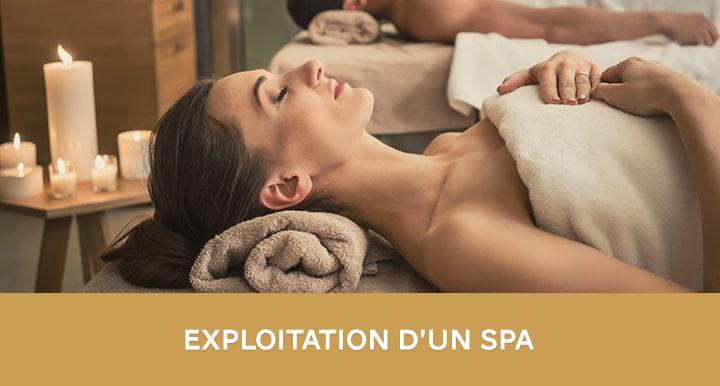 Formation exploiter un spa en hôtellerie de luxe