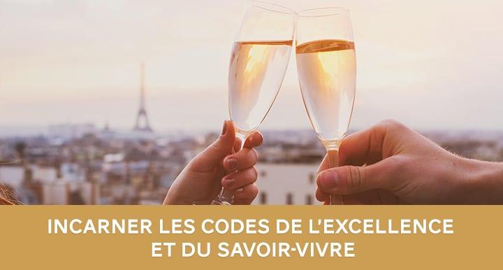 Excellence et savoir-vivre à la française