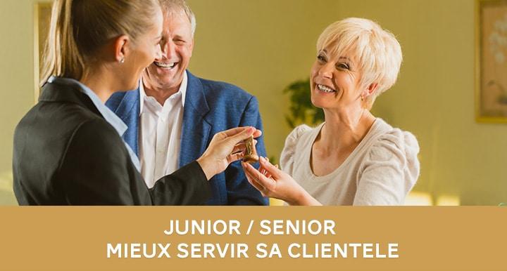 Comment mieux servir la clientèle sénior