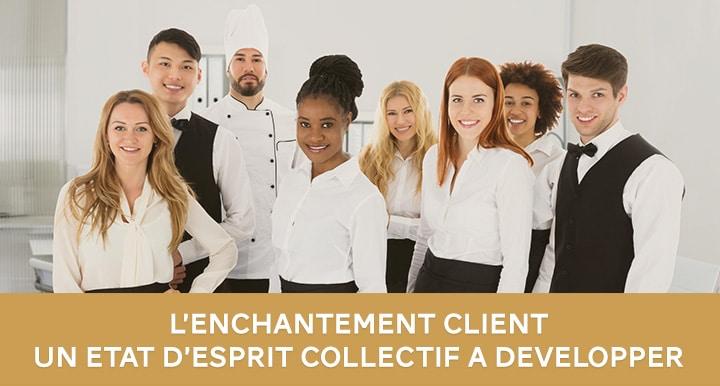 Formation travail d'équipe et satisfaction client